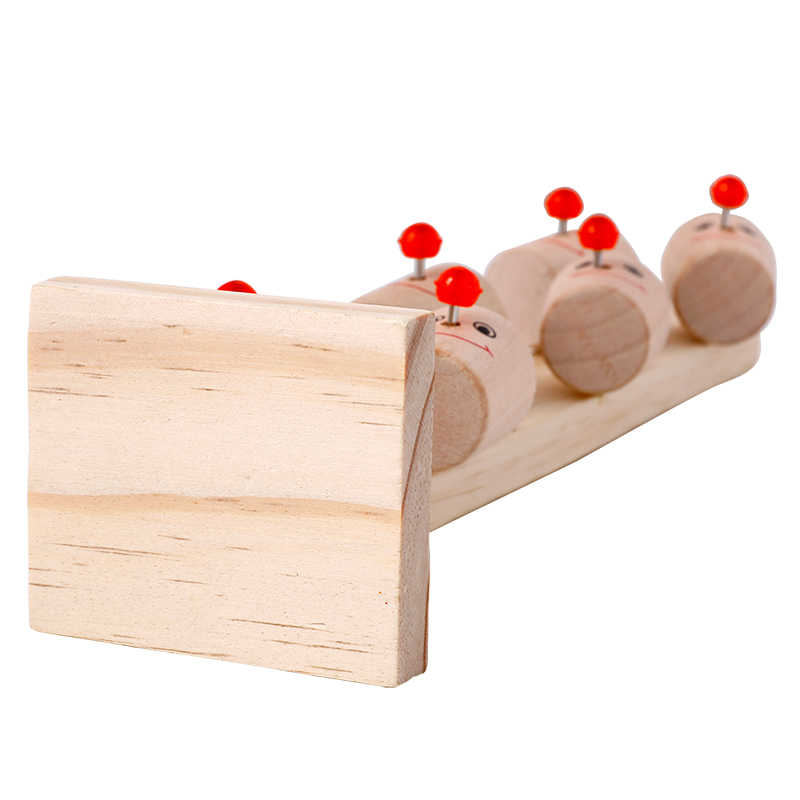 Childrens Educational Toys Wooden Toys Clown Marbles Table Childrens Fun Games Baby Ball Interactive Drop Shipping