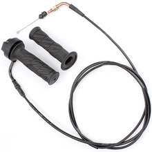 Hand Grip Moped Scooter Throttle Turn ATV Quadbike Motorcycle Replacement Spare Cable Black For Gy6 50cc 150cc