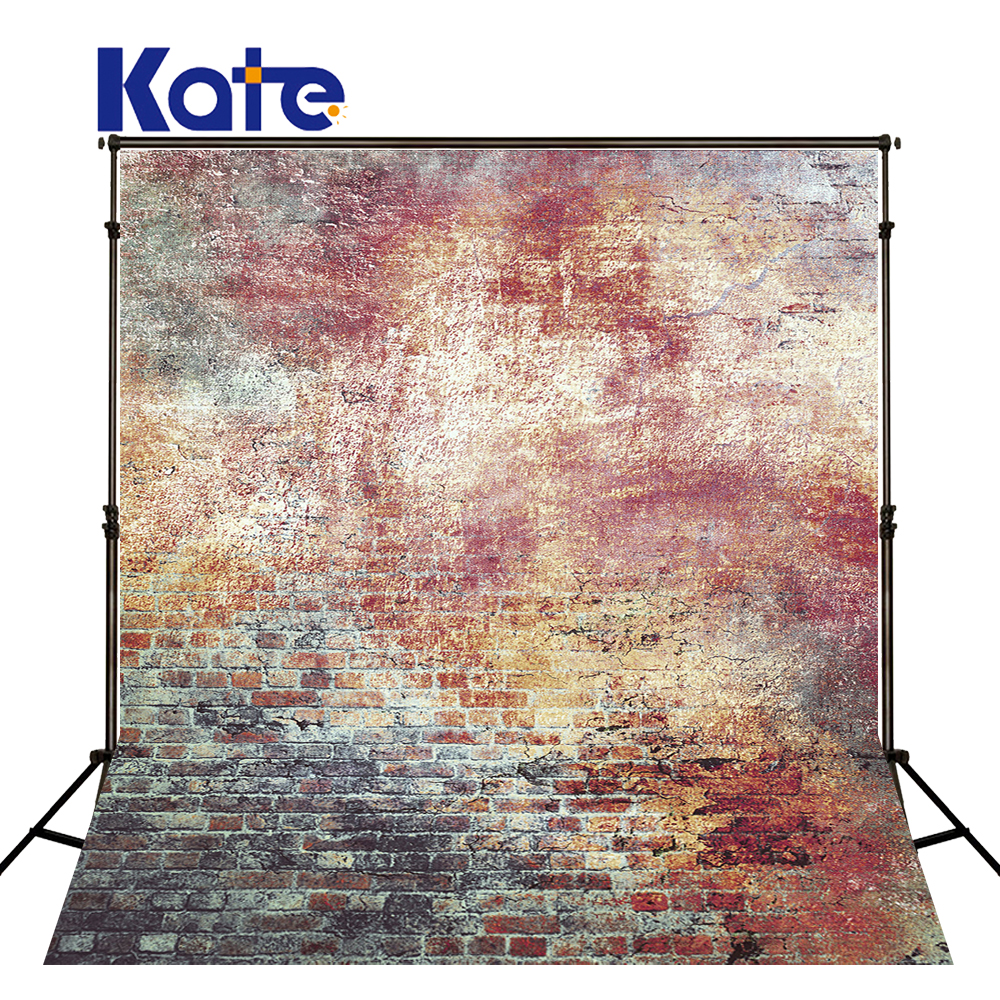 Kate 5X7FT Retro Brick Wall Backgrounds For Photo Studio For Children Photography Background Microfiber Photo Background kate 5x7ft photo background spring
