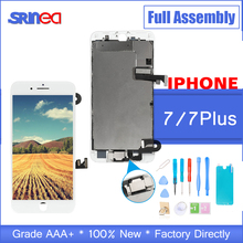 OEM LCD For iPhone 7 7 Plus Display Full Set Digitizer Assembly 3D Touch Screen i Phone 7 P 7P Replacement Front Camera+Speaker oem wh037 page 7