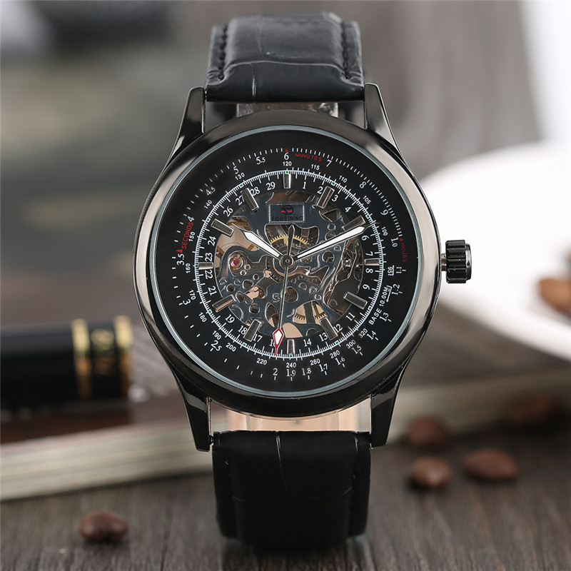 FORSINING Luxury Mmechanical Men Wristwatch Genuine Leathe Band Unique Design Dial  Cost effective Male Casual Fashion Watch forsining luxury mmechanical men wristwatch genuine leathe band unique design dial cost effective male casual fashion watch