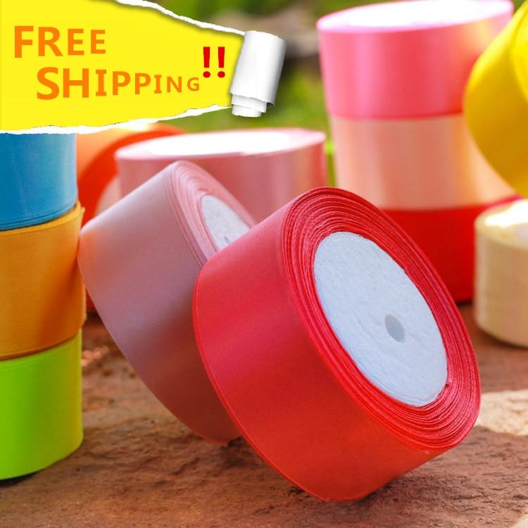 Vysoce kvalitní 24 Yard Roll 40 mm Barevné Stuha Edge - Umění, řemesla a šití