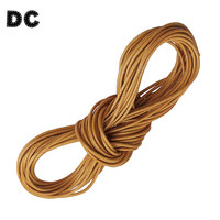 90 Meters/bag 2mm Round Waxed Cord Rope for Necklace and Macrame Bracelets Handmade Jewelry Making Accessories F576
