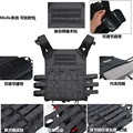 Lightweight Tactical Vest Quick Response Vest Armor Outdoor CS Field Protective Warfighting Equipment