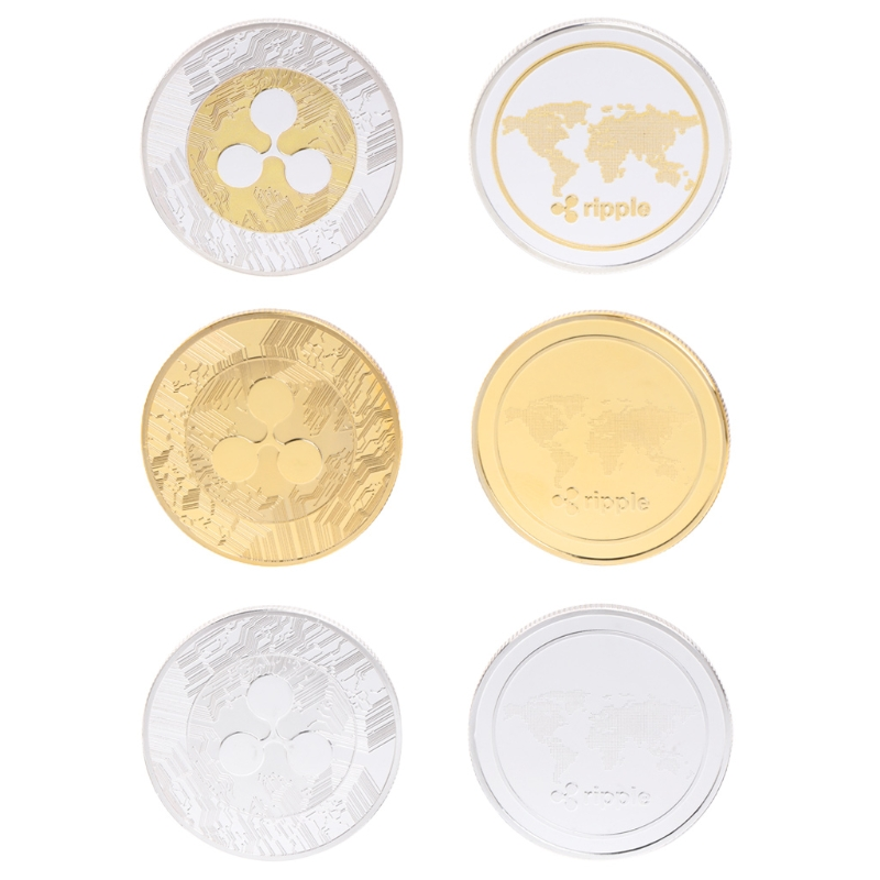 2018 New Arrival Commemorative Coin Ripple XRP Collection Gift Souvenir Crafts Arts #20/28L