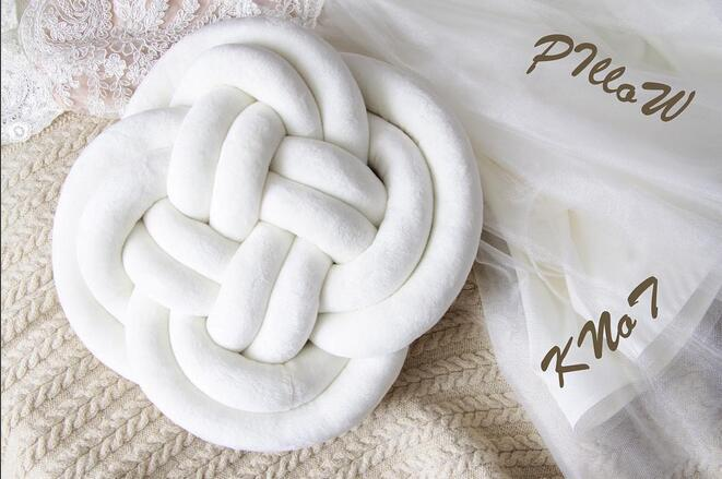 Danish Knot INS Doll Plush Denmark Nordic Sofa Bed Room Stuffed Baby Child Toys Birthday Christmas Gift Dash Pillow Cushion nooer new ins hot soft cloud pillow stuffed plush toy sofa seat cushion kids bedroom decoration christmas birthday gift