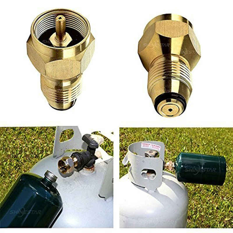Details about  /Gas Flat Refill Adapter Canister Accessory Camping Stove Shifter Converter G7R7