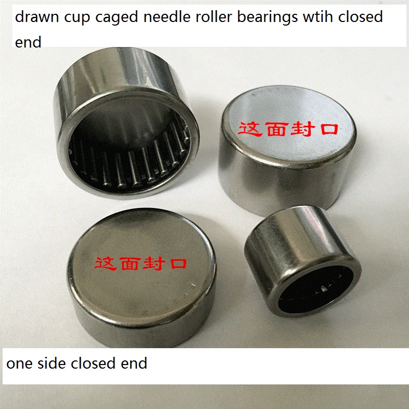BK2516 Drawn cup caged Needle roller bearings with closed end  the size of  25*32*16mm nki55 25 needle roller bearings with inner ring the size of 55 72 25mm
