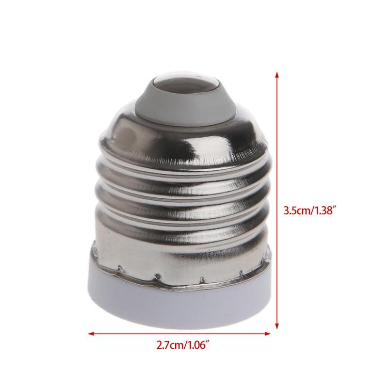 E27 To E17 Socket Base LED Halogen CFL Light Bulb Lamp Adapter Converter Holder