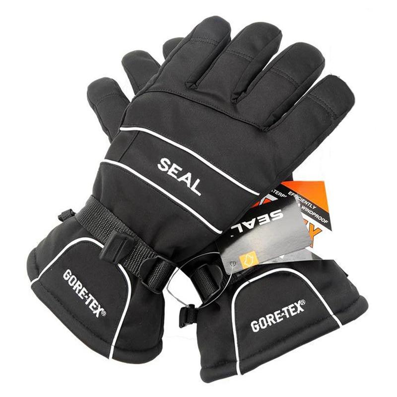 Outdoor Sports Ski Gloves Men Women Windproof Waterproof Snowboard Gloves Winter Skiing Gloves Size M/L