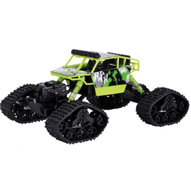 4WD 2.4 Ghz รีโมทคอนโทรลรถ Snowfield Rock Crawler รถ