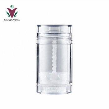8pcs/lot 50ml Clear Empty Plastic Round Deodorant Containers Lip Balm Tubes for Lipstick, Crayon,lipstick,homemade Lip Balm цена 2017