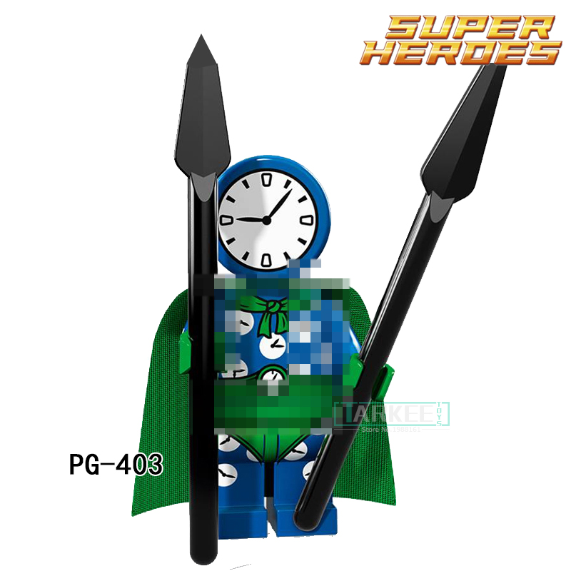 PG403 Clock King DC Marvel Super Hero Figure Star Wars Bricks Single Blocks Model Funny Toys For Children PG8106 Gift Hobbies