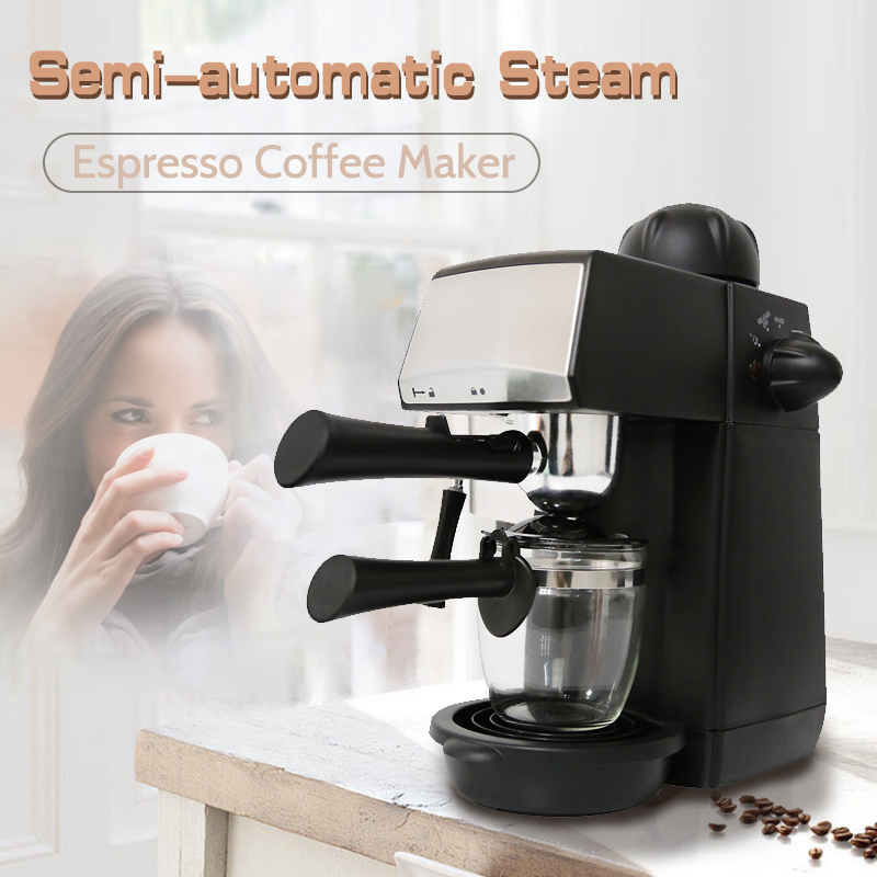 240ml SW-CRM2001 Semi-Automatic Steam Type Espresso Coffee Machine Overheat Overvoltage Protection Pause Function Coffee Maker240ml SW-CRM2001 Semi-Automatic Steam Type Espresso Coffee Machine Overheat Overvoltage Protection Pause Function Coffee Maker