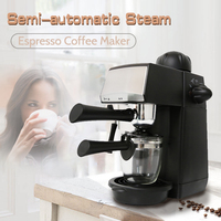240ml SW CRM2001 Semi Automatic Steam Type Espresso Coffee Machine Overheat Overvoltage Protection Pause Function Coffee Maker
