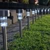 10X LED Solar Power Outdoor Waterproof Yard Garden Decoration Landscape Lawn Path Light Spot Lamp Solar