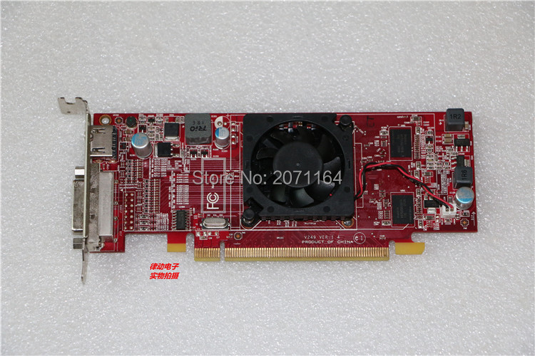 For HP HD7400 1G DDR3 seconds for a half-height graphics card ASUS HD5450 HD7470 GT430