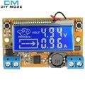 Displays de Cristal líquido DC-DC Step-Down fonte de Alimentação Conversor Buck Ajustável Módulo de Botão de pressão com Display LCD 5-23 V 3A