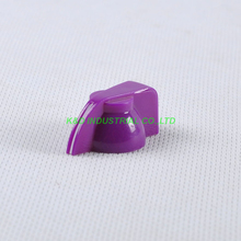 10pcs Colorful Rotary Volume Purple Control Vintage Plastic Knob 32x14mm for 6.35mm Shaft