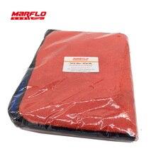 Panno Asciugamano in microfibra 1000gsm Cura dell'auto Lavaggio Blu Rosso 2 pcs in un sacchetto di plastica
