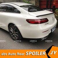 For Mercedes Benz E class coupe Spoiler 2016 2018 E200 E300 Spoiler High Quality Carbon Fiber Car Rear Wing Color Rear Spoiler