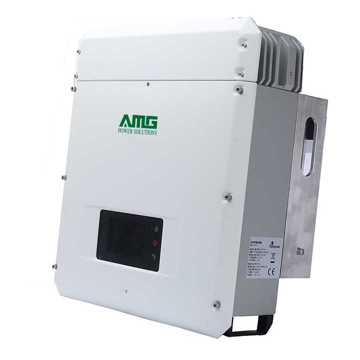 Solar Power On Grid 10KW 15KW 20KW Grid Tie Inverter with Dual MPPT Waterproof IP65 Wifi Default Conversion