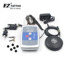 EZ Stealth 2.0 Rotary Tattoo machine and Needles Set New Tattoo kits for Tattooist tattoo supplies kit 1 kit /lot