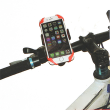 Bike Bicycle Motorcycle Handlebar Mount Holder Phone Holder With Silicone Support Band For Iphone Samsung XIAOMI