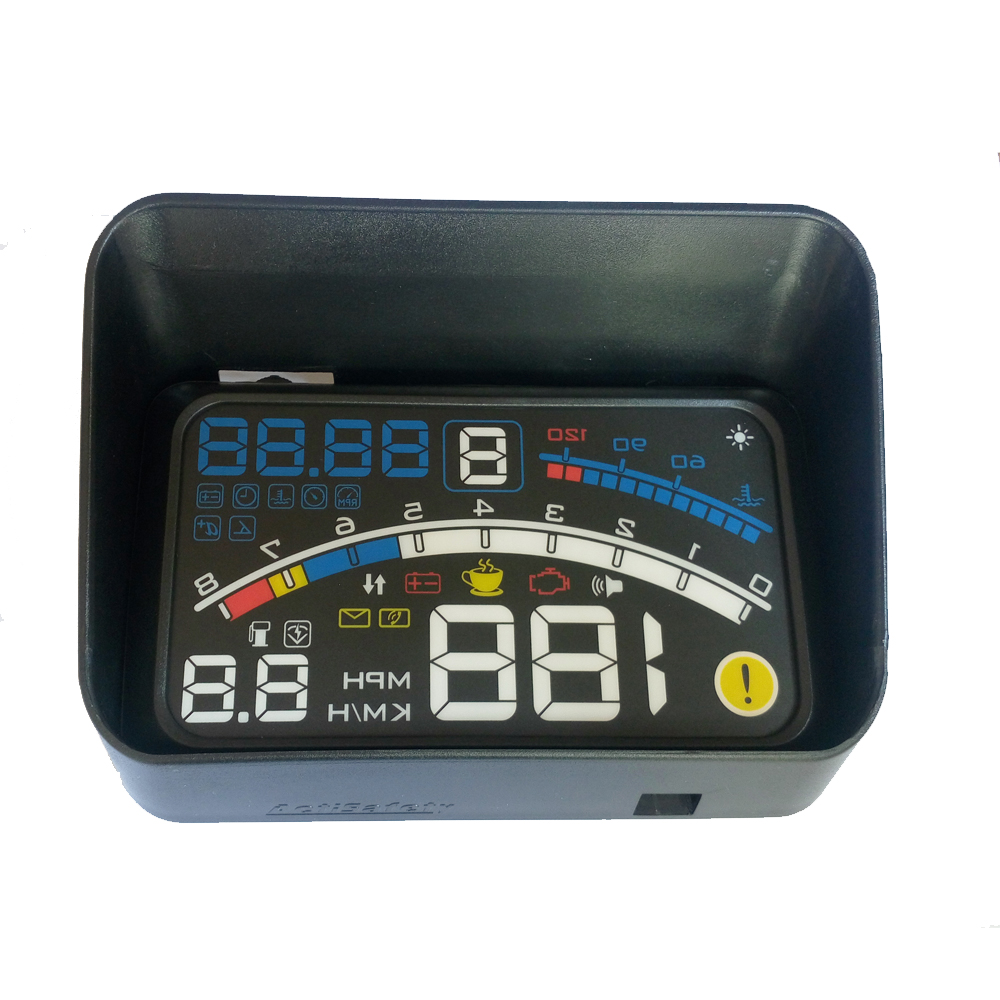 16 Pin 2 in 1 Diagnostic Extension OBD 2 Cable for HUD Headup ...