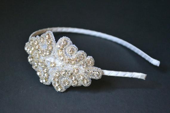 wedding girls Crystal Headbands Bling hairband Pearl   Rhinestone Headband  Phtography Props headband 2pcs Hair Accessories bdd8f68f1d5d