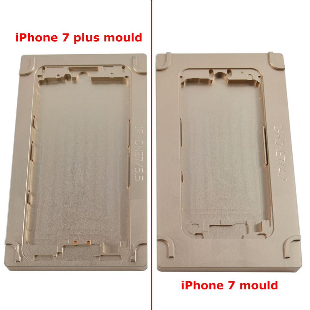 Titanium Alloy Lower Mould For iPhone7&iPhone7Plus LCD REMOVAL MACHINE SEPARATOR