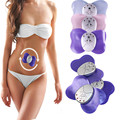 2Pcs Mini Butterfly Design Body Muscle Massager Electronic Slimming Massager Fitness with 4 LED lights display