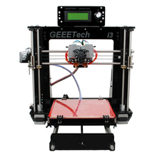 Dual Extruder I3 3D Printer DIY KIT Double nozzles + LCD 2004 200*200*180mm