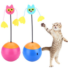 Discount! Laser Pointer Tumbler Cat Toys For Cats Durable Electric Interactive Products