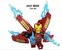 LELE D009 Marvel Super Heroes Series Iron Man Minifigured Building Blocks Figure Bricks Compatible With Bela(China)