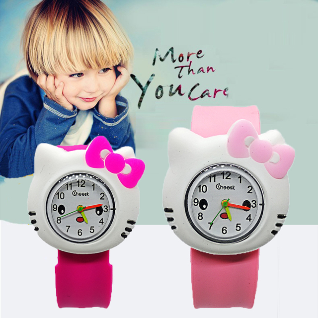 wholesale 2018 new children's Clock student children boys girls hello kitty watc
