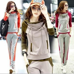 Free shipping promotion / 2013 new fleece suit women leisure suit fashion women's clothing of cultivate one's morality