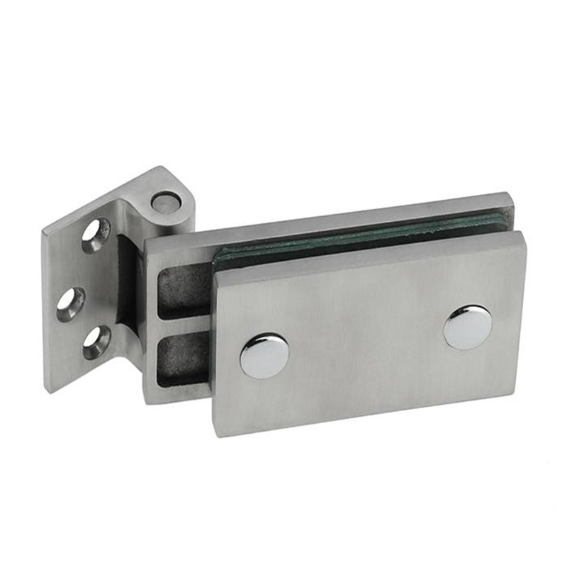 Stainless Steel Furniture Glass Bathroom clamp Glass Door Clamp 90 Degrees