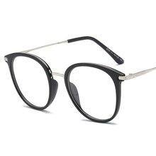 Fashion Retro Eyeglasses Frame Vintage Round Prescription Glasses Frame Black Myopia Optical Glasses Eyewear Frame For Women Men