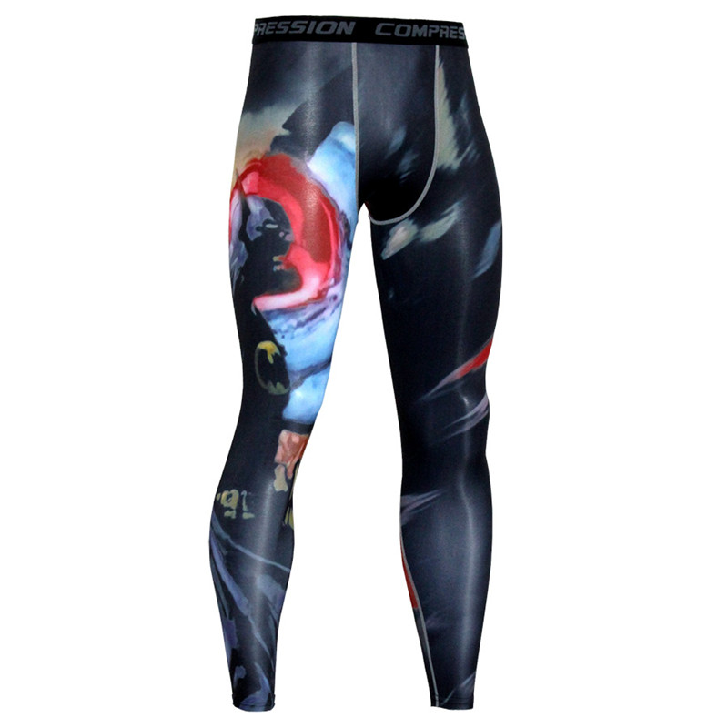 Fri Siberian Husky Dog Compression Pants//Running Tights Leggings Men Drawstring