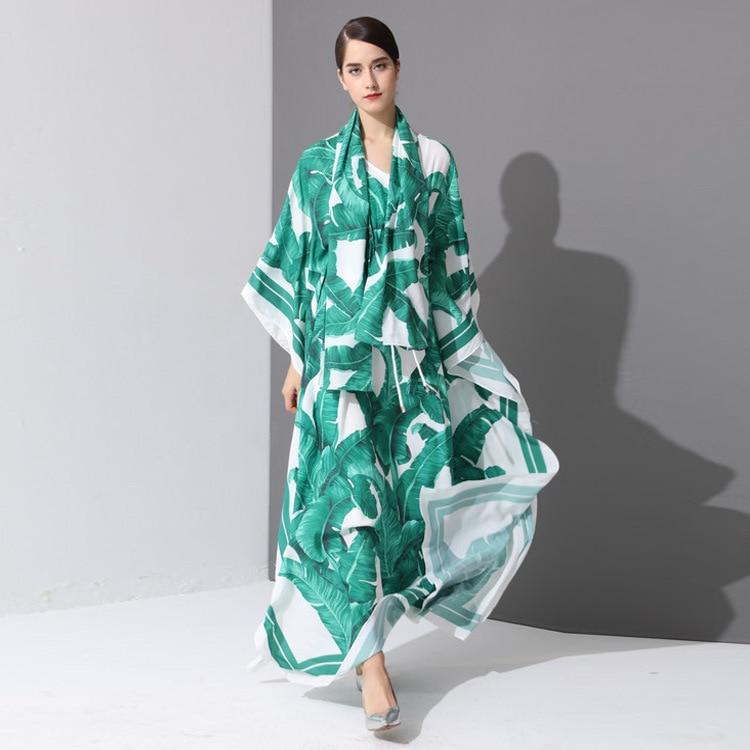 más el tamaño de calidad nuevo árabe elegante suelta abaya kaftan - Ropa nacional