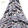 Chainho  этнический стиль/серия Elephant/Летняя одежда из ткани/имитация шелка с принтом/юбка/платье/материал рубашки/половина метра 50х140см
