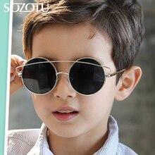 SOZOTU Boys&Girls Sunglasses Brand Designer Kids Cool Round Sun Glasses For Baby Children Shades Gafas Oculos de sol YQ365