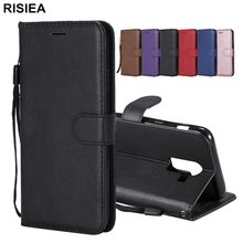 RISIEA PU Leather Wallet Case For Samsung Galaxy J1 J2 pro J3 J4 Core J5 J6 Plus J7 Duo 2015 2016 2017 Prime J8 2018 Flip Case(China)