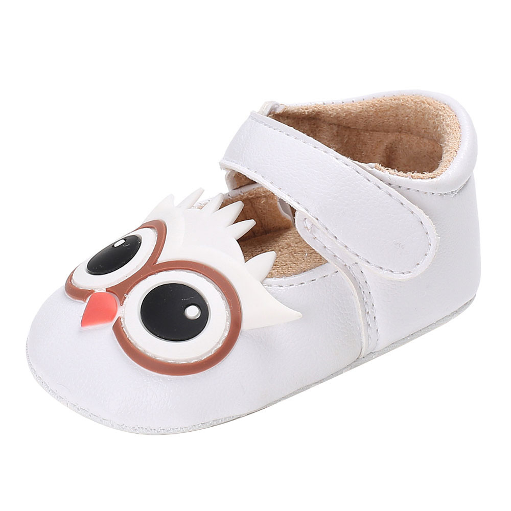TELOTUNY Baby Infant Kids Girl Soft Sole Crib Toddler Newborn Shoes comfortable Crib Shoes PU Leather S3MAR8