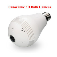 960 1 3MP Bulb Light Wireless IP Camera Panoramic Wi Fi Lamp FishEye WIFI Camera 360