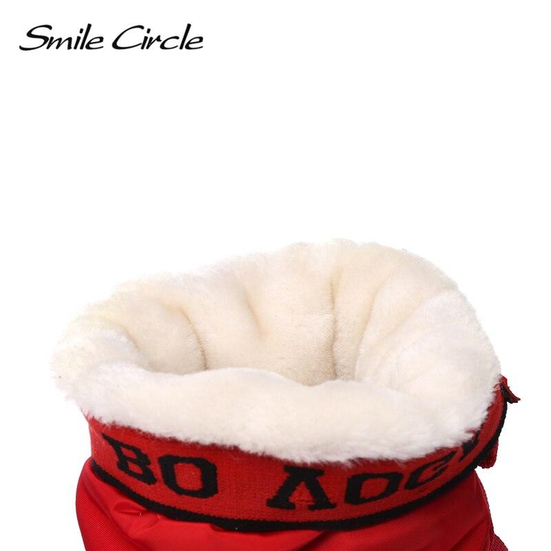 Plataforma Mujer Negro Invierno Desgaste Botas De Impermeable Cálido Fácil 2018 Negro Felpa rojo Gruesa Grueso Plana Zapatos Blanco blanco Nieve dq1OW