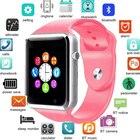 ✔  A1 Smart Watch Мужчины Bluetooth Наручные Часы Спортивный Шагомер С SIM Камерой Smartwatch Android С ✔