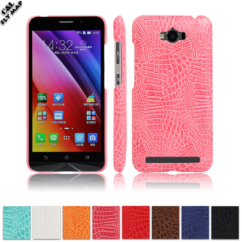 Crocodile Case for <font><b>ASUS</b></font> ZenFone Max ZC550KL Hard PC Protective Phone Cover Coque for <font><b>ASUS</b></font> <font><b>Z010D</b></font> Z010DA <font><b>ASUS</b></font>_<font><b>Z010D</b></font> Leather Case image