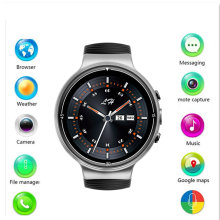 4 г smart watch I8 Android 7,0 MTK6737 4 ядра Amoled 400*400 SmartWatch телефон Heart Rate поддержка gps Wi-Fi 2,0 mp Camaro PK I4(China)